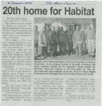 09-01042005- A-L Habitat Article