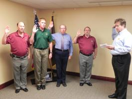 ff-Redstone Chapter Officers - September 2012