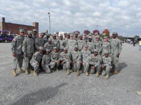 09-2014 SV VD Parade-AAMU Cadets