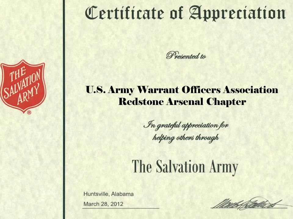 37-2012 Salvation Army Certificate-28mar12
